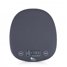 Himaly Digital Food Scale, 11 lbs/5kg Multifunction Kitchen Scale Measures in 4 Units for Cooking and Baking, Lightweight Food Liquid Scale with Easy Reading LCD Display(Batteries Included)