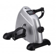 himaly Mini Static Exercise Pedal for Exercise Bike for Arms and Legs with LCD Display and Adjustable Resistance, Resistance Cycle Indoor